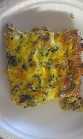Crustless Spinach And Cheese Quiche Recipe - Food.com