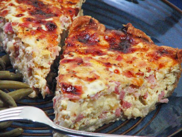 Ham Cheese Pie Recipe Food Com