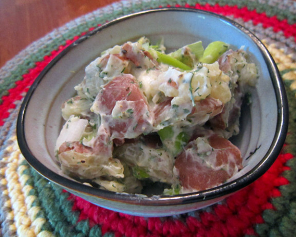 Baby Red Potato Salad With Lemon And Herbs Recipe ...