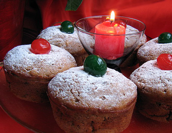 christmas morning jewelled muffin mix in a jar recipe