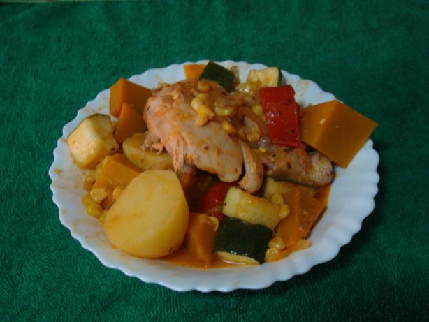 Chicken, Pumpkin And Sweetcorn Stew Recipe - Food.com
