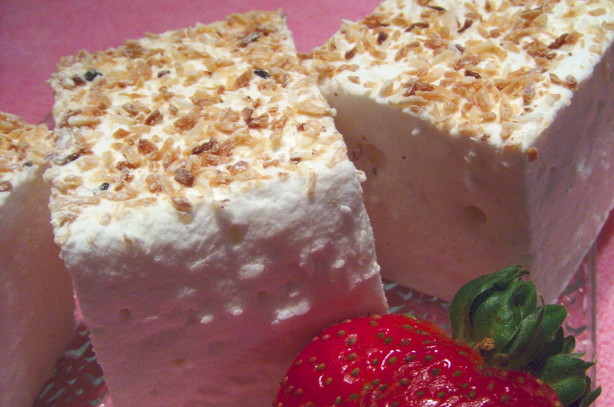 Toasted Coconut Marshmallow Squares Recipe - Dessert.Food.com