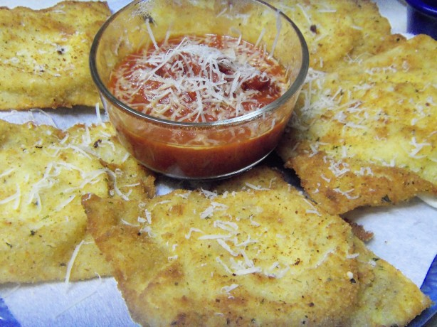 Toasted Ravioli Recipe - Deep-fried.Food.com