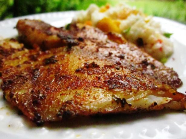 Blackened fish recipe for Blackening seasoning for fish