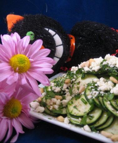Zucchini Carpaccio With Feta And Pine Nuts Recipe - Food.com