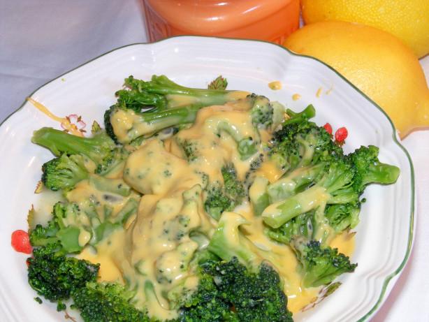broccoli and cheese sauce