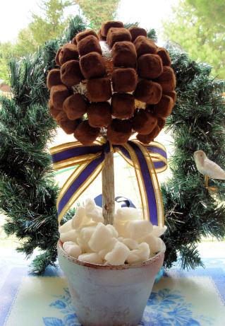 Chocolate Truffle Christmas Tree
