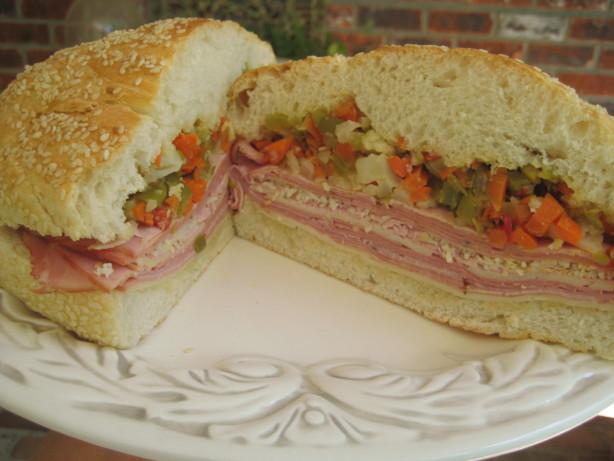 Muffuletta Sandwiches Recipe - Italian.Food.com