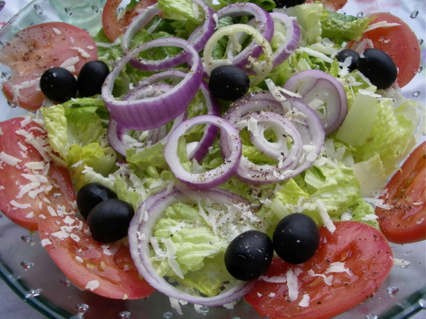 Olive Garden Salad Copycat Recipe