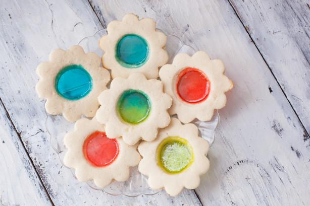 Stained glass window lollipop cookies recipe for Stained glass cookie recipe