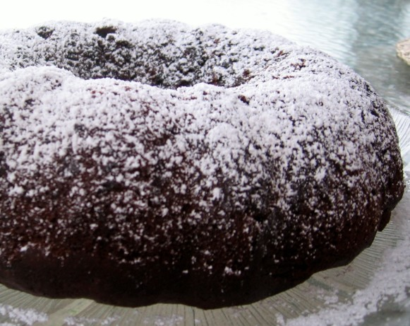 Chocolate Banana Chocolate Chip Bundt Cake Recipe - Food.com