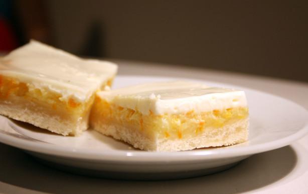 Sour Cream Lemon Shortbread Bars Recipe - Food.com