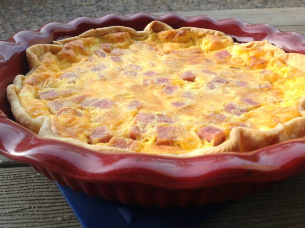 Ham And Cheese Quiche Recipe - Food.com