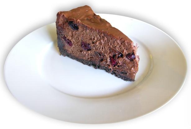 Dark Chocolate Covered Cherry Cheesecake Recipe - Food.com