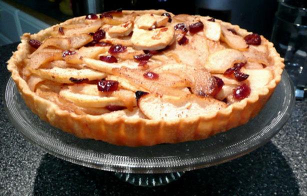 Cranberry Pear Tart Recipe - Food.com