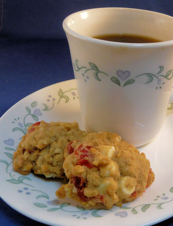 white chocolate maple white chocolate and cherry oatmeal cookies white ...