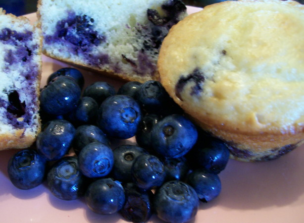 Sour Cream Blueberry Muffins Recipe - Food.com