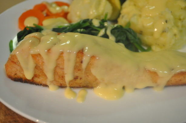 crusted fish with wine mustard sauce recipe