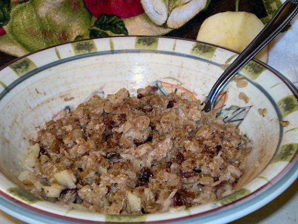 Healthy Apple Cinnamon Oatmeal Recipe - Food.com