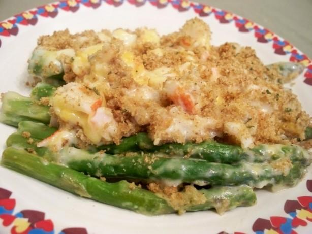 Asparagus Crab Au Gratin Recipe - Food.com