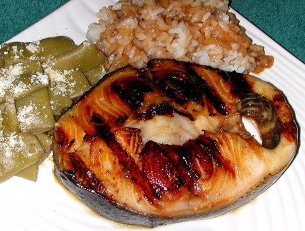 Julies baked or grilled black cod teriyaki recipe for Grilled cod fish recipes