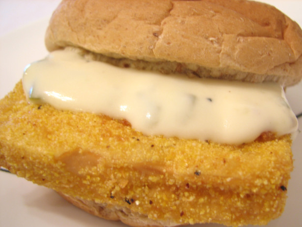 Easy Tofu Fillet Sandwich With Tartar Sauce Recipe - Food.com