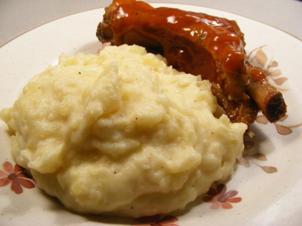 Roasted-Garlic Mashed Potatoes Recipe - Food.com
