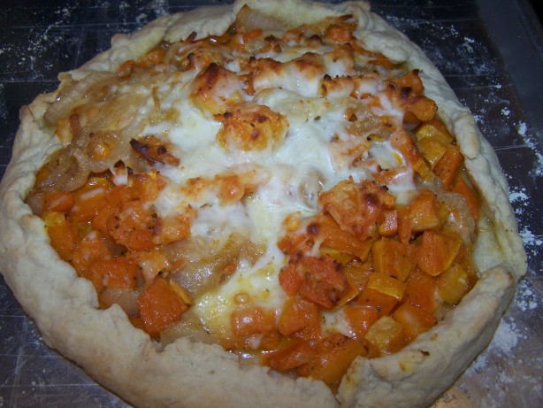 Butternut Squash And Caramelized Onion Galette Recipe - Food.com