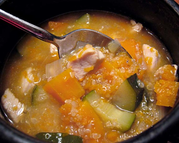 Squash-Quinoa Soup Recipe - Food.com