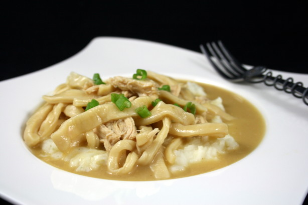 Moms Easy Chicken And Homemade Noodles Recipe - Food.com
