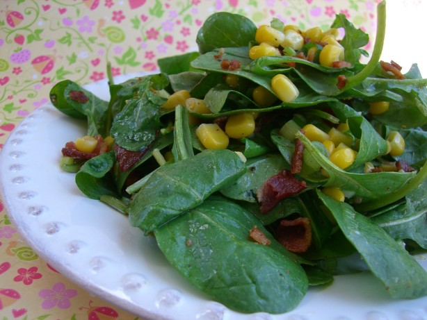 Bacon Candy Crumbled Into A Crisp Fresh Corn Salad Recipes ...