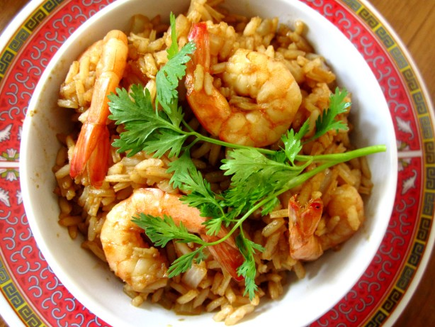 Thai Style Fried Rice... With A Curry Flavor, Hmmm!!! Recipe - Food ...