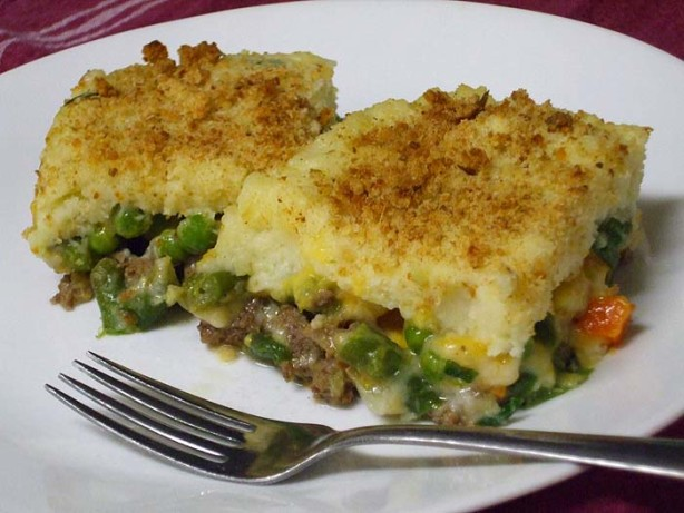ground beef and mashed potatoes recipe