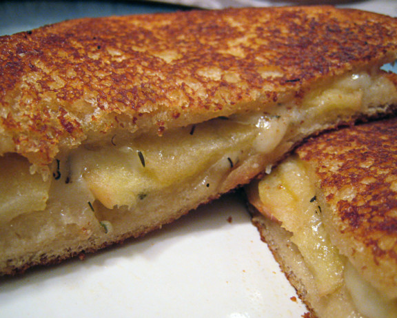 Grilled Swiss Cheese And Apples Sandwiches Recipe - Food.com