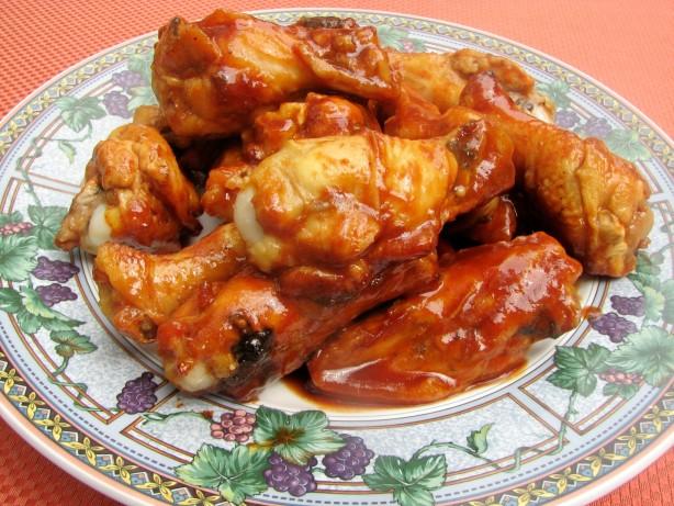 chicken wings in sauce recipe
