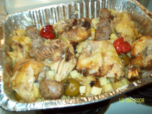 Spicy Sicilian Baked Chicken Recipe - Food.com