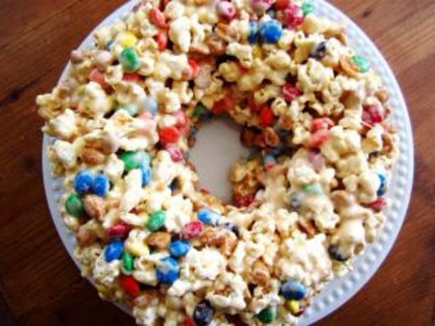 Popcorn Marshmallow Cake Recipe