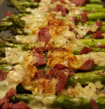 Roasted Asparagus With Pancetta Recipe - Food.com