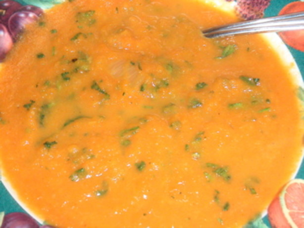 Chilled Spice-Roasted Carrot Soup With Yogurt Recipe — Dishmaps