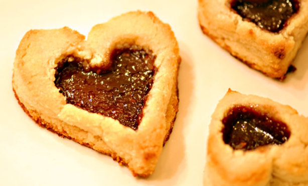 Valentines Day Linzer Heart Cookies Recipe - Food.com