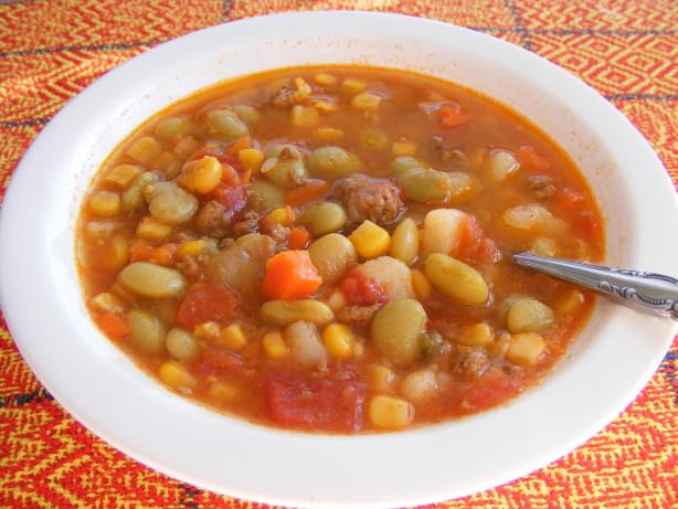Simple Hamburger Vegetable Soup Recipe - Food.com