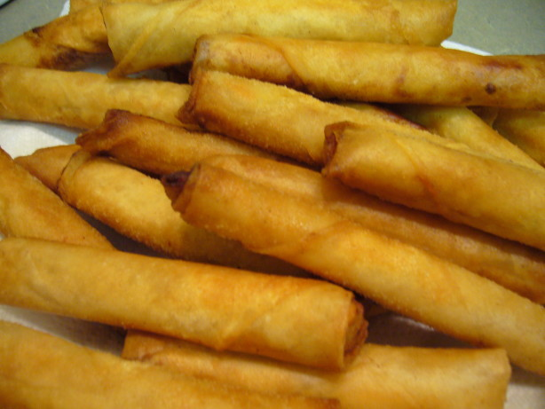 how to cook frozen uncooked spring rolls
