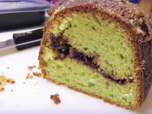 Pistachio Nut Bundt Cake Recipe