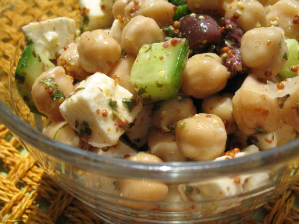 Greek-Style Chickpea Salad Recipe - Food.com