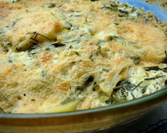 Leek And Cheese Scalloped Potatoes Recipe - Food.com