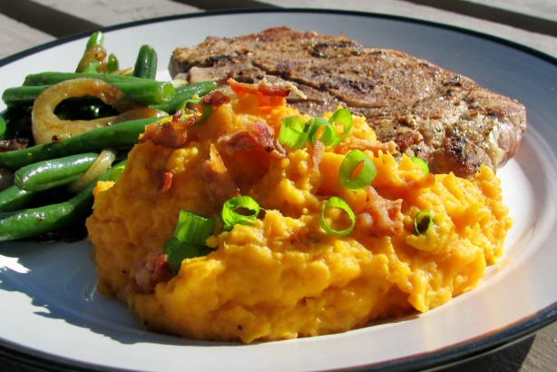 Maple Mashed Sweet Potatoes Recipe - Thanksgiving.Food.com