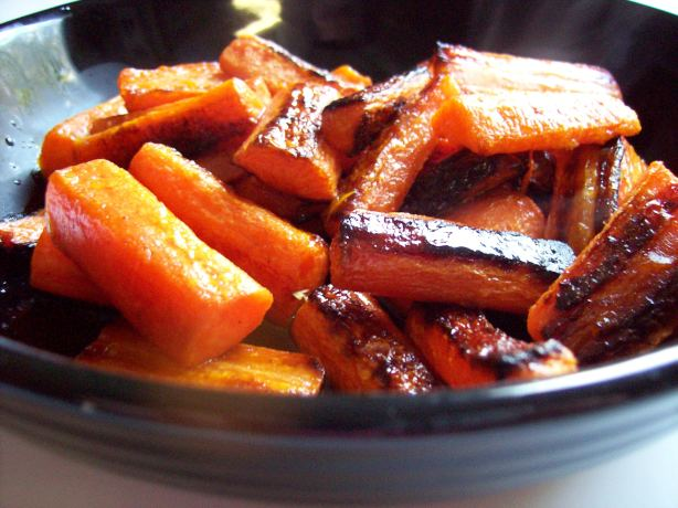 Roasted Carrots With Lemon Dressing Recipe - Food.com