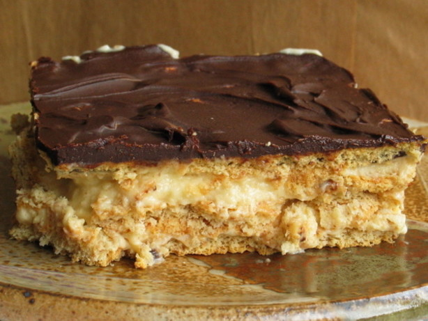 Easy peanut butter and chocolate eclair dessert recipe for Simple peanut butter dessert recipes