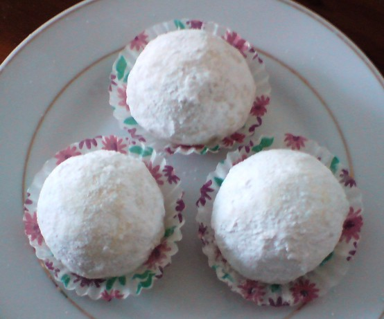 Favourite Mexican Wedding Cakes Pecan Cookie Balls Recipe