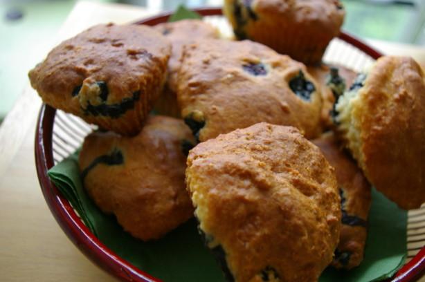 Blueberry Buttermilk Muffins Recipe - Food.com